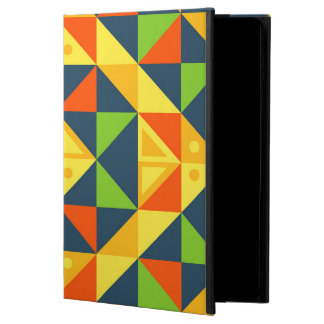 Colorful Abstract Geometric Grid Powis iPad Air 2 Case