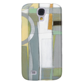Colorful Abstract Geometric Shapes Galaxy S4 Case