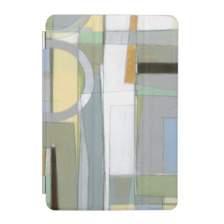 Colorful Abstract Geometric Shapes iPad Mini Cover