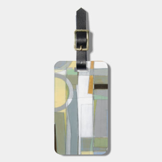 Colorful Abstract Geometric Shapes Luggage Tag