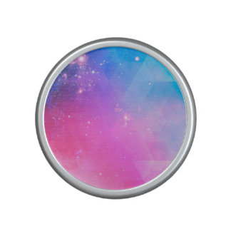 Colorful Abstract Geometric Sky Galaxy Speaker