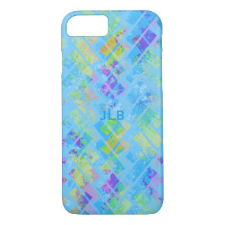 Colorful Abstract Herringbone iPhone 7 Case