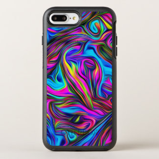 Colorful Abstract Illustration OtterBox Symmetry iPhone 8 Plus/7 Plus Case