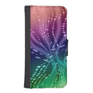 Colorful Abstract iPhone 5/5s Wallet Case