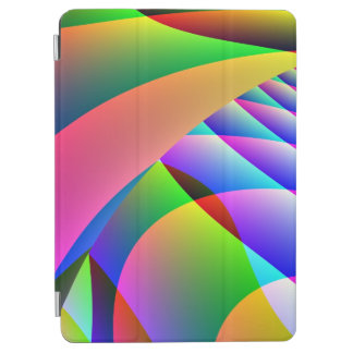 Colorful Abstract Jacobs Ladder iPad Air Cover