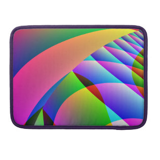 Colorful Abstract Jacobs Ladder Sleeve For MacBook Pro