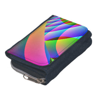 Colorful Abstract Jacobs Ladder Wallet