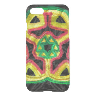 Colorful abstract kaleidoscope iPhone 8/7 case