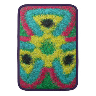 Colorful abstract kaleidoscope sleeve for MacBook air