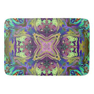 Colorful Abstract Mandala Bath Mat