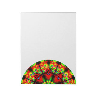Colorful Abstract Mandala Side Notepad