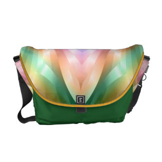 Colorful Abstract Courier Bags