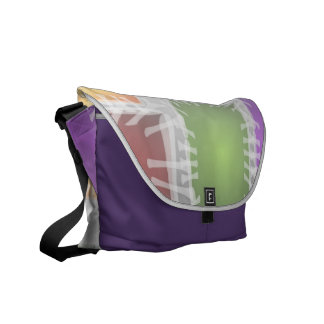 Colorful Abstract Messenger Bag