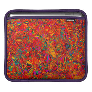 Colorful Abstract Multi Color Background iPad Sleeve