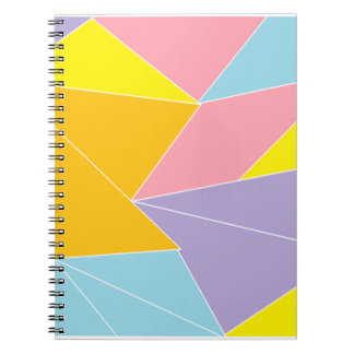 Colorful Abstract Notebooks
