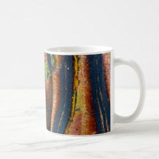 Colorful abstract of a Tiger eye Coffee Mug
