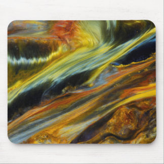Colorful abstract of Pietersite Mouse Mat