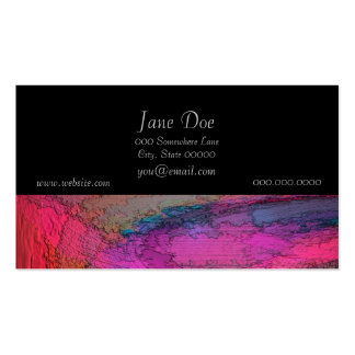 Colorful Abstract Painting Business Cards