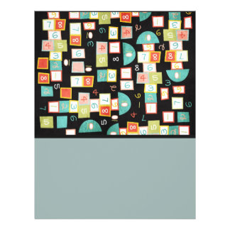 Colorful Abstract Pattern 21.5 Cm X 28 Cm Flyer