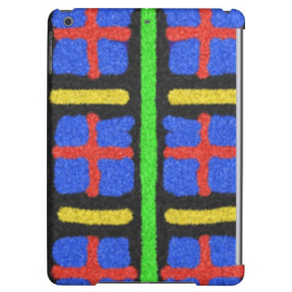 Colorful abstract pattern case for iPad air