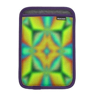 colorful abstract pattern iPad mini sleeve