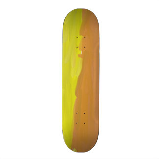 Colorful abstract pattern custom skateboard