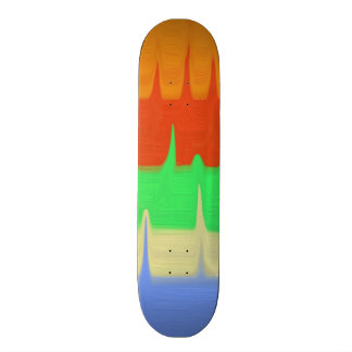 Colorful Abstract pattern 19.7 Cm Skateboard Deck