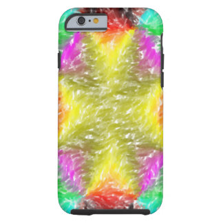 Colorful abstract pattern tough iPhone 6 case