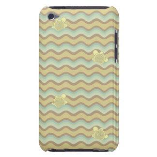 colorful abstract pattern, waves barely there iPod covers
