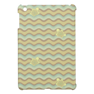 colorful abstract pattern, waves iPad mini case