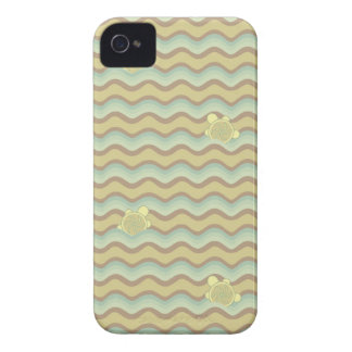 colorful abstract pattern, waves iPhone 4 case