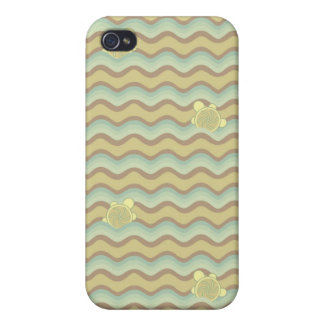 colorful abstract pattern, waves iPhone 4 cases