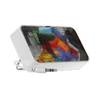 Colorful  Abstract PC Speakers