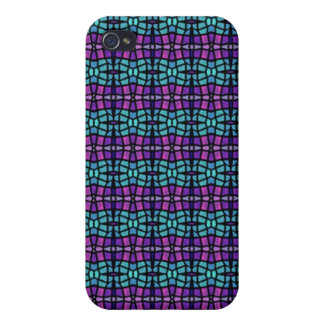 Colorful abstract pern iPhone 4/4S case