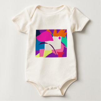 Colorful Abstract Picture Bodysuit