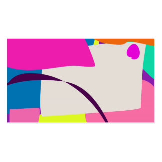 Colorful Abstract Picture Business Cards