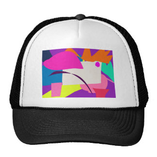 Colorful Abstract Picture Cap