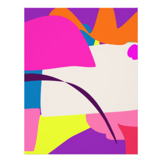 Colorful Abstract Picture Custom Flyer