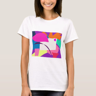 Colorful Abstract Picture T-Shirt