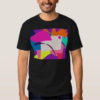 Colorful Abstract Picture Tee Shirts