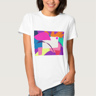 Colorful Abstract Picture Tshirt