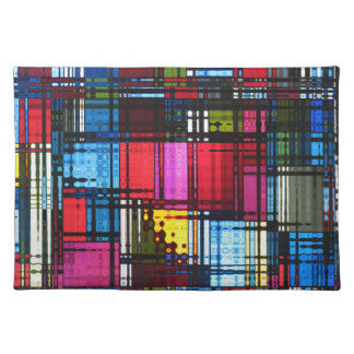 Colorful Abstract Placemat Place Mat