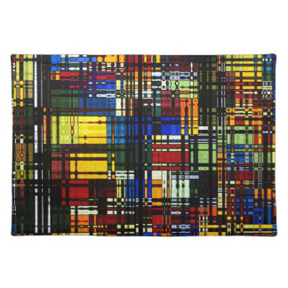 Colorful Abstract Placemat Placemats