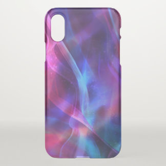 Colorful Abstract Plasma Light iPhone X Case