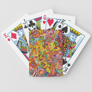 Colorful Abstract Playing Cards