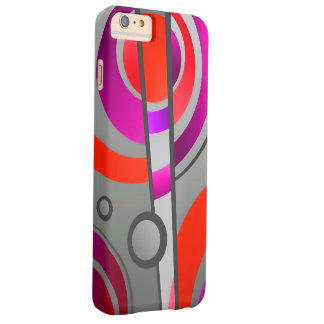 Colorful Abstract Pop Art Geometric Pattern Barely There iPhone 6 Plus Case