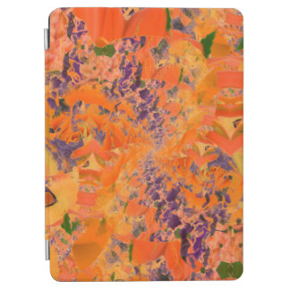 Colorful Abstract Purple And Brown Background iPad Air Cover