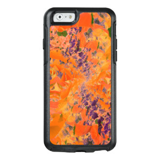 Colorful Abstract Purple And Brown Background OtterBox iPhone 6/6s Case