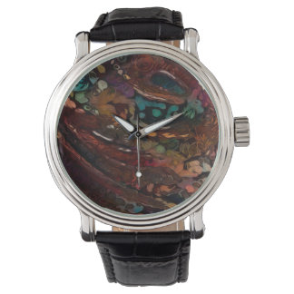 Colorful Abstract Reflective Look Watch