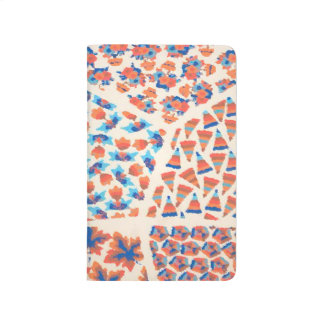 Colorful Abstract Shapes Background Journal